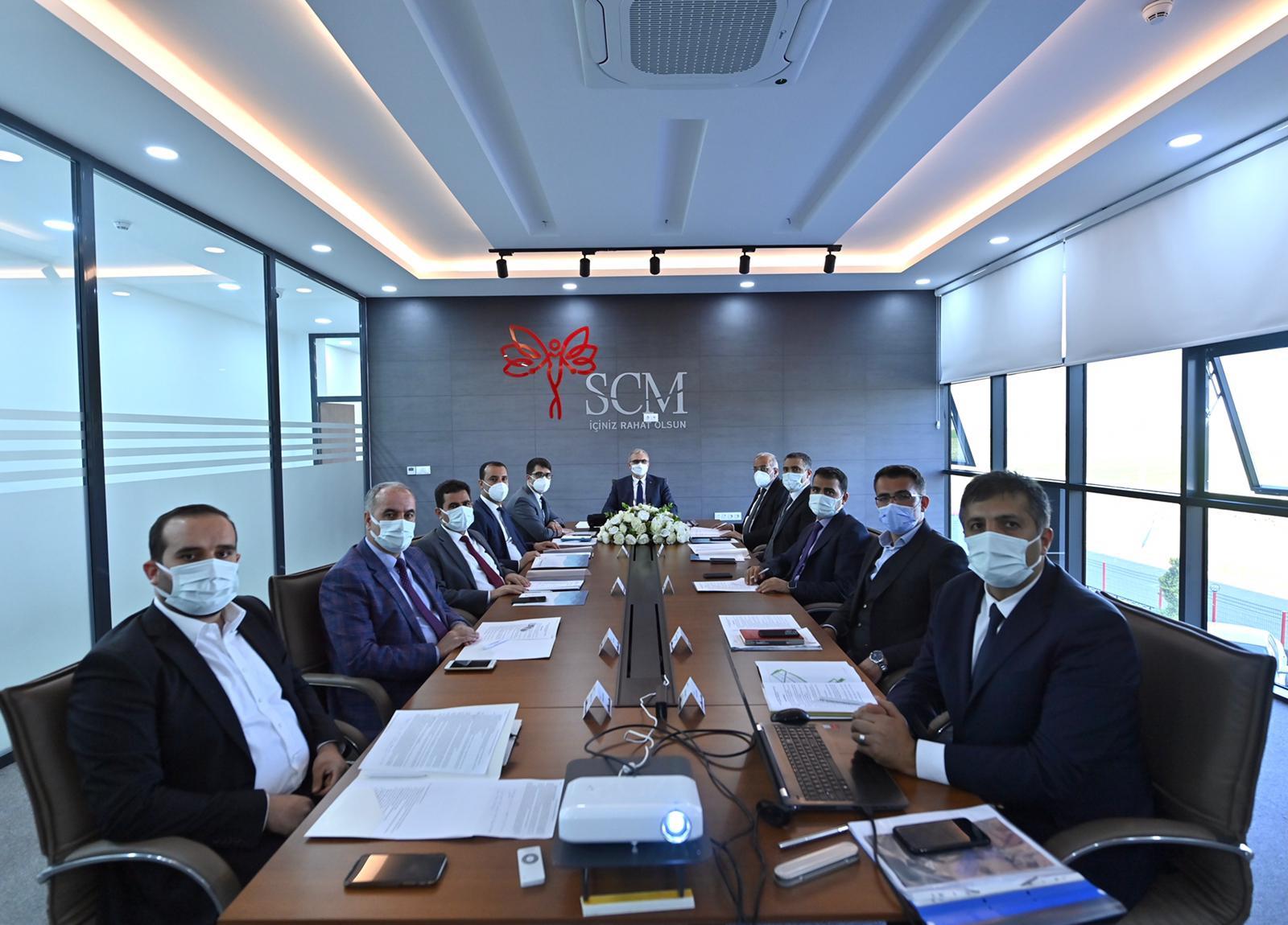 Vali Münir Karaloğlu Başkanlığında Yönetim Kurulu Toplantısı Gerçekleştirildi.