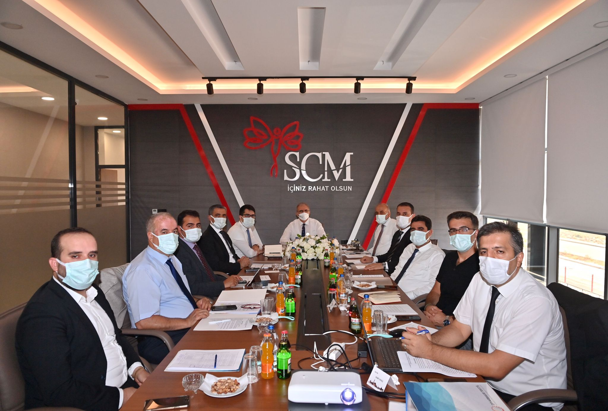 Sn. Vali Münir KARAOĞLU Başkanlığında Yönetim Kurulu Toplantımız Gerçekleşti.